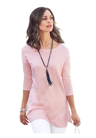 Pullover in modisch weiter Longform kaufen