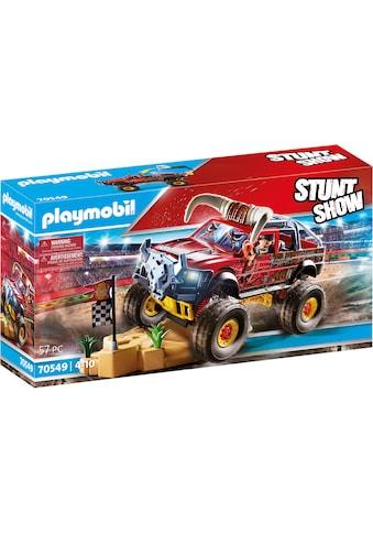 Playmobil® Konstruktions-Spielset »Monster Truck Horned (70549), Stuntshow«, (57 St.) kaufen