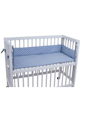 tiSsi® Bettnestchen »Kronen blau«, Made in Europe kaufen