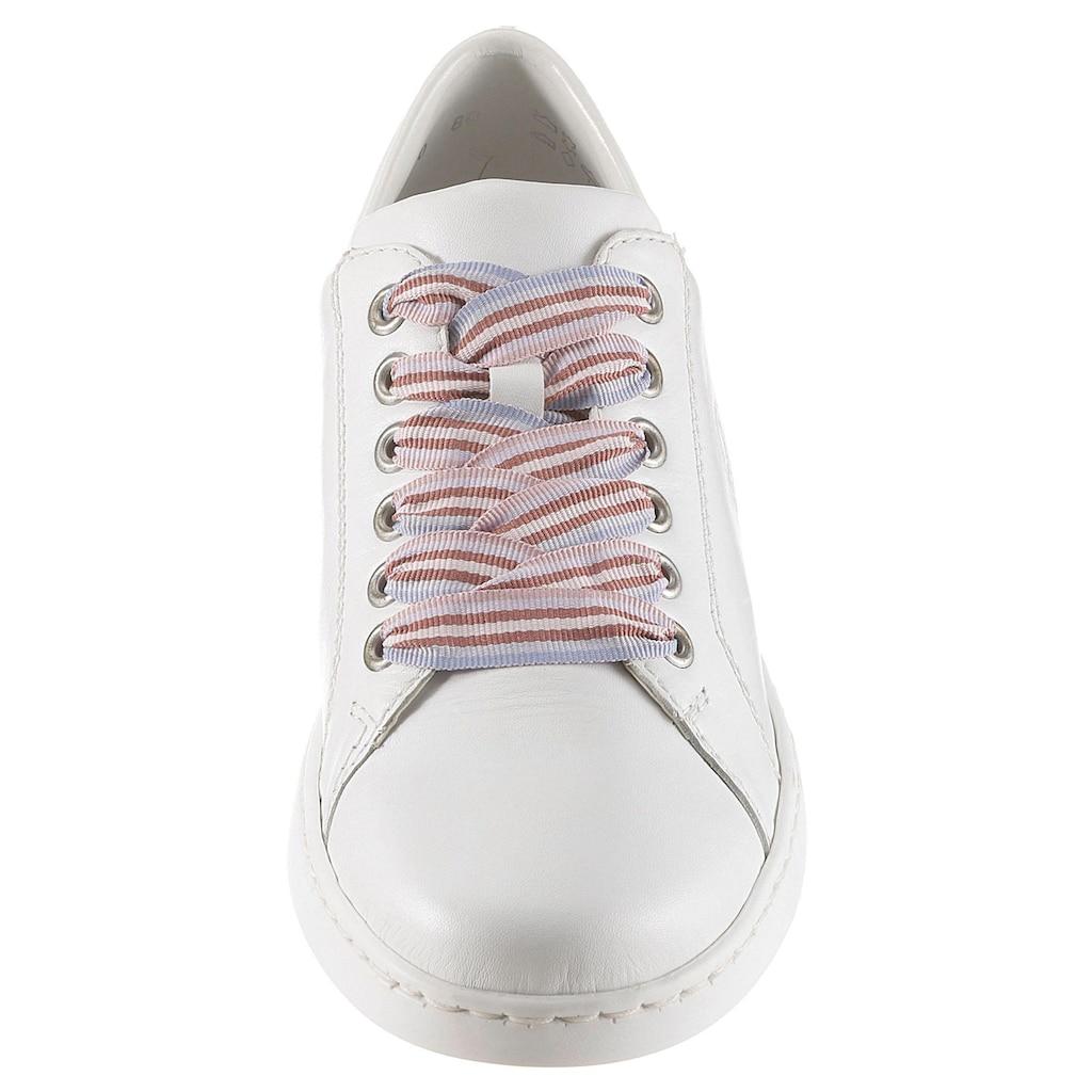 Rieker Sneaker, mit seitlicher Logo-Prägung