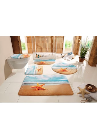 my home Badematte »Seestern«, Höhe 14 mm, rutschhemmend beschichtet, fußbodenheizungsgeeignet kaufen