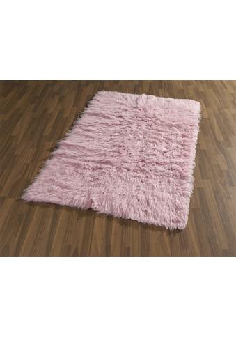 Böing Carpet Wollteppich »Flokati 1500 g«, rechteckig, 60 mm Höhe, reine Wolle, handgearbeitet, Wohnzimmer kaufen