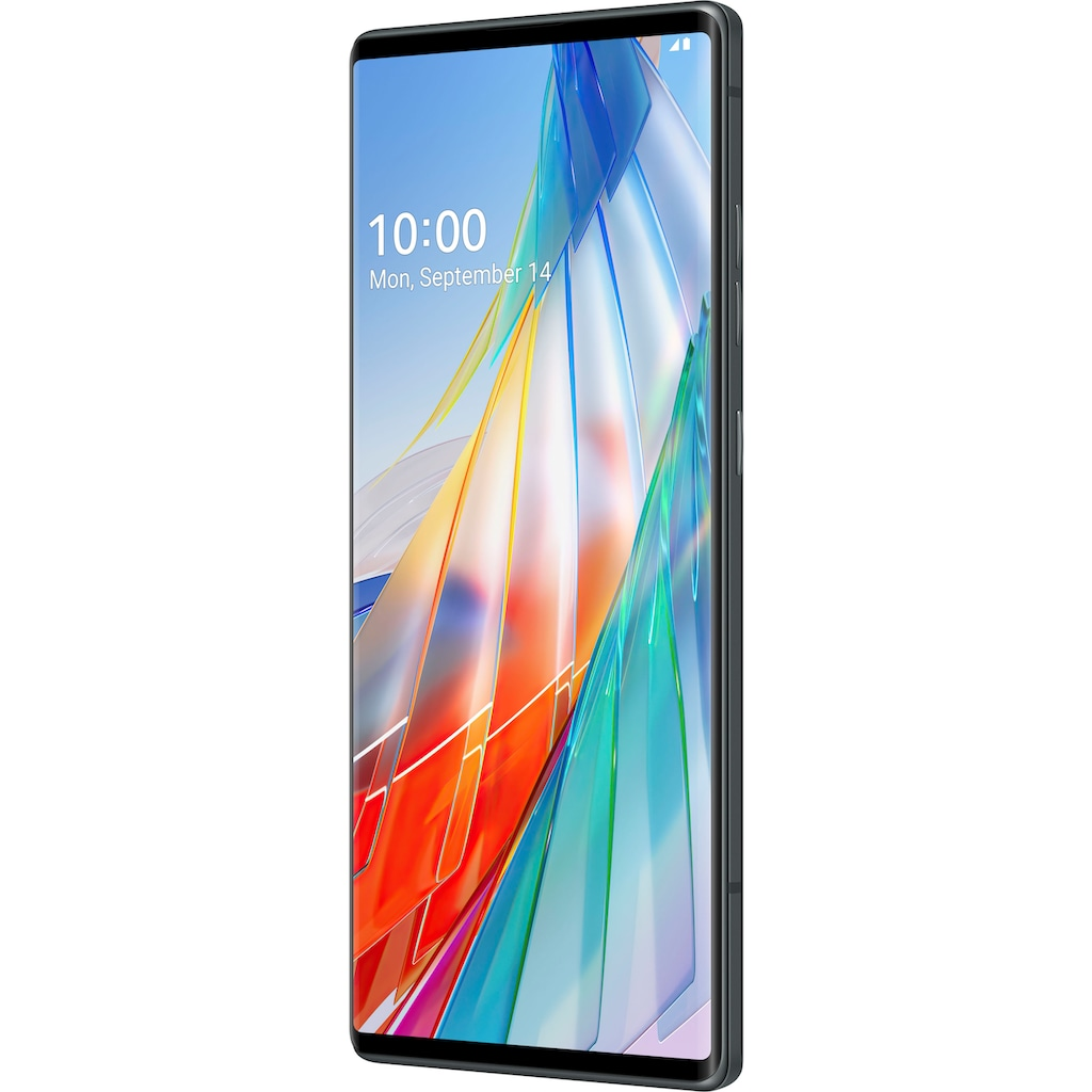"LG Smartphone »WING«, (17,27 cm/6,8 "" 128 GB Speicherplatz, 64 MP Kamera)"