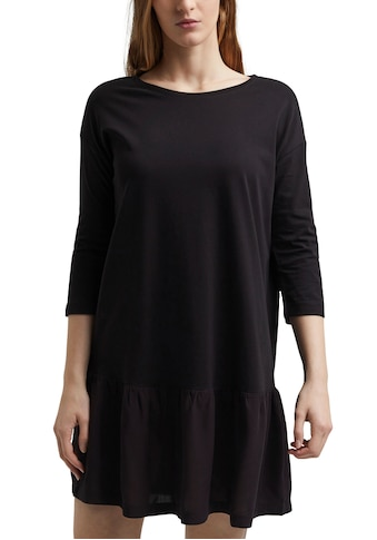 edc by Esprit Jerseykleid, mit Volant am Saum kaufen