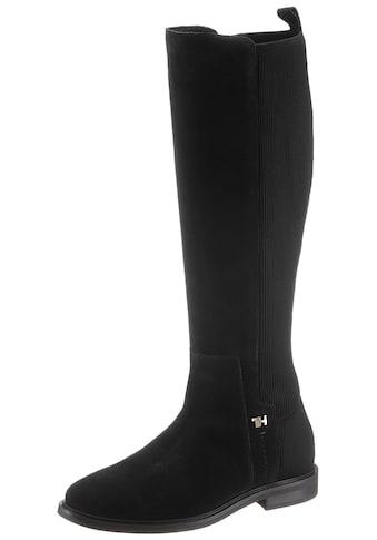 TOMMY HILFIGER Stiefel »ESSENTIAL FLAT LONG BOOT« kaufen