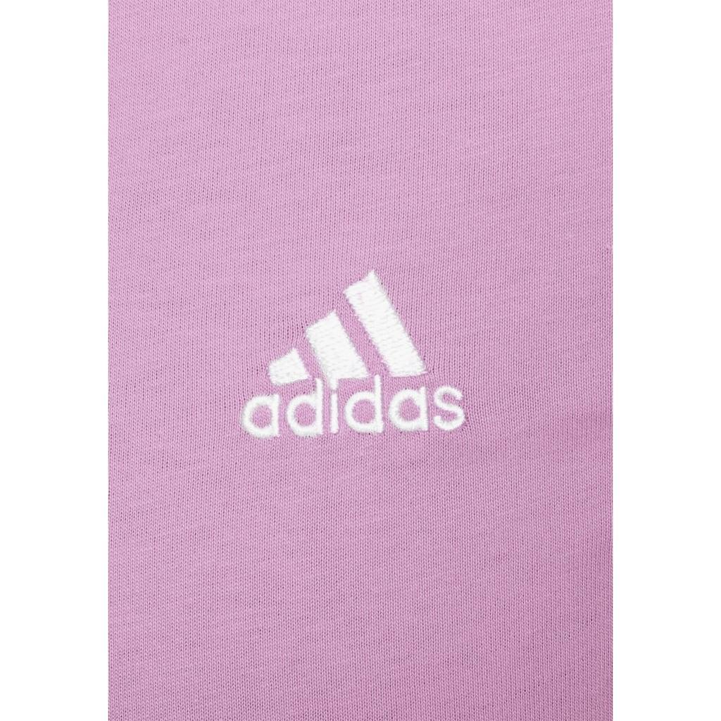 adidas Performance T-Shirt »ESSENTIALS SLIM 3-STREIFEN«