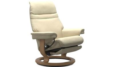 Stressless® Relaxsessel »Sunrise«, mit Classic Base und Power™, elektrisch verstellbar, optional 2-motorisch, Größe M & L, Gestell Eiche kaufen