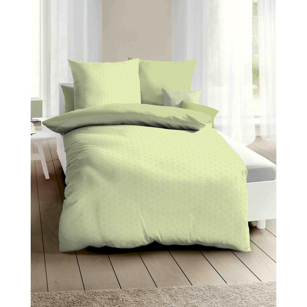 Kaeppel Wendebettwäsche »Moment«, gleichmäßiges Muster