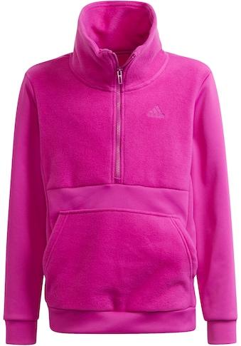 adidas Performance Sweatshirt »FLEECE HALF-ZIP DESIGNED2MOVE AEROREADY WARMING JUNIOR... kaufen