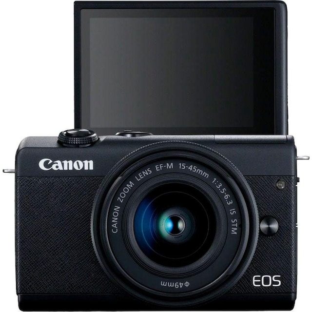 Canon »EOS M200 EF-M 15-45mm f3.5-6.3 IS STM Kit« Systemkamera (EF-M 15-45mm f/3.5-6.3 IS STM, 24,1 MP, Bluetooth WLAN (Wi-Fi))