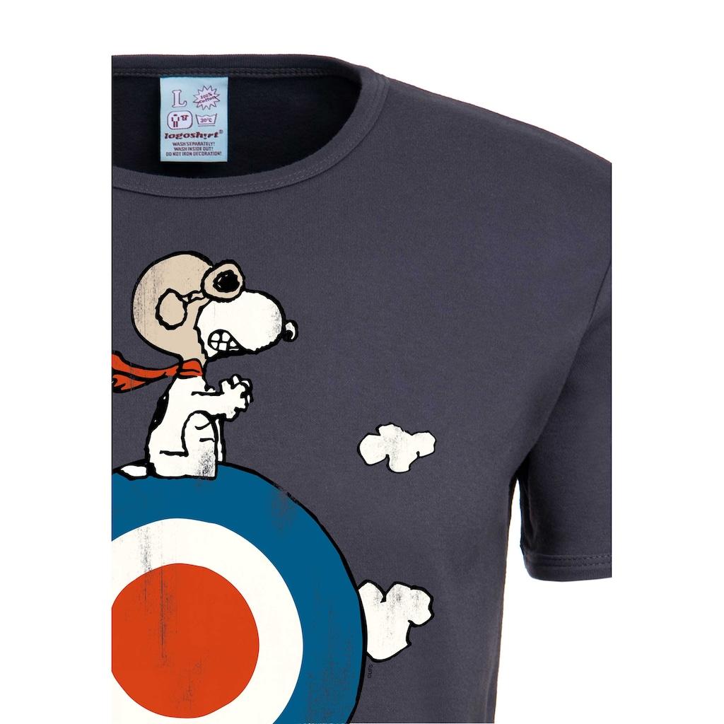 LOGOSHIRT T-Shirt »Snoopy«, mit lizenziertem Originaldesign