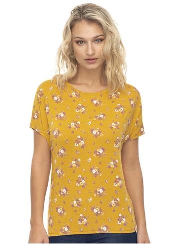 Ragwear T-Shirt »PECORI«, mit multicolor Blumen-Allover-Muster kaufen