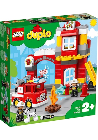 """LEGO® Konstruktionsspielsteine """"Feuerwehrwache (10903), LEGO® DUPLO™"""", (76 - tlg.) kaufen"""