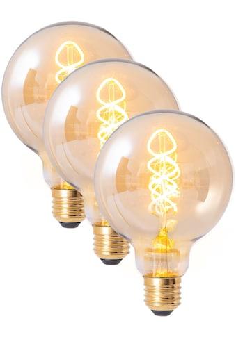 näve LED-Leuchtmittel »Filament«, E27, 3 St., Warmweiß, dimmbar, Set - 3 Stück,... kaufen