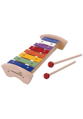 SIMBA Spielzeug-Musikinstrument »Xylophon«, KiKANiNCHEN Holz-Xylophon, FSC®-Holz aus gewissenhaft bewirtschafteten Wäldern kaufen
