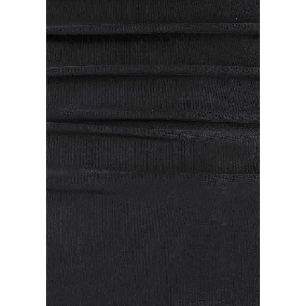 LASCANA Badeanzug, mit dekorativer Raffung und Shaping-Effekt