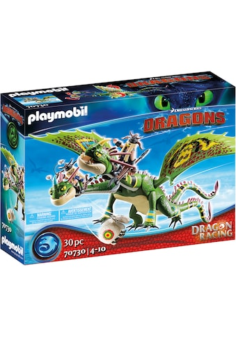 Playmobil® Konstruktions-Spielset »Dragon Racing: Raffnuss und Taffnuss mit Kotz und... kaufen