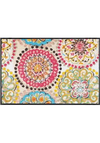 wash+dry by Kleen-Tex Fußmatte »Vintage Fresko«, rechteckig, 7 mm Höhe kaufen