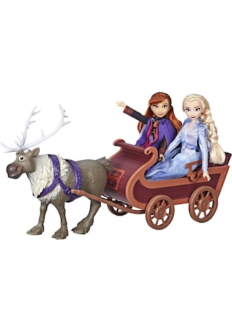 Hasbro Anziehpuppe »Die Eiskönigin II, Schlittenfahrt mit Sven und den Schwestern Elsa... kaufen