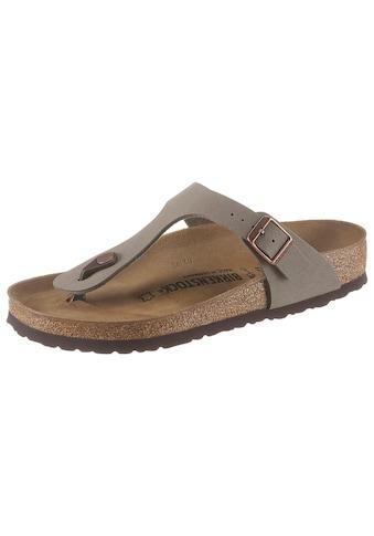 Birkenstock Zehentrenner »GIZEH BF«, mit vorgeformtem Fußbett kaufen