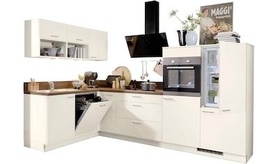 Express Küchen Winkelküche »Scafa«, mit E - Geräten, Stellbreite 305 x 185 cm kaufen