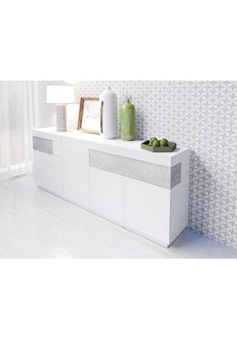 TRENDMANUFAKTUR Sideboard »SILKE«, Breite 218, 5 cm kaufen