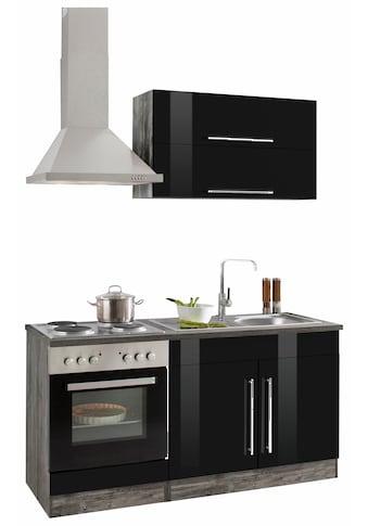 HELD MÖBEL Küchenzeile »Samos«, mit E-Geräten, Breite 160 cm kaufen