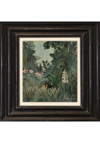 Holzbild »Dschungel« kaufen
