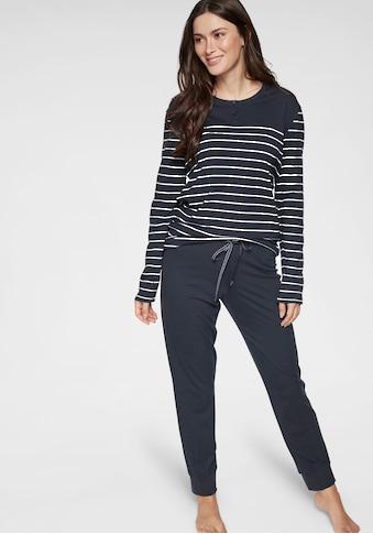Schiesser Pyjama, mit klassischen Streifen kaufen