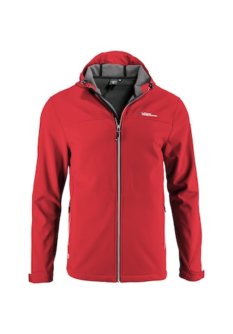 DEPROC Active Softshelljacke »ROUGH PEAK MEN«, Kontrastreissverschluss kaufen