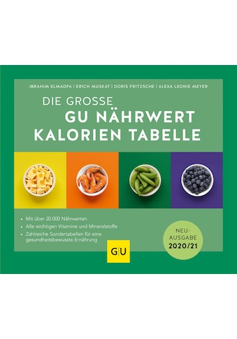 Buch »Nährwert-Kalorien-Tabelle, Die große GU / Ibrahim Elmadfa, Erich Muskat, Doris... kaufen