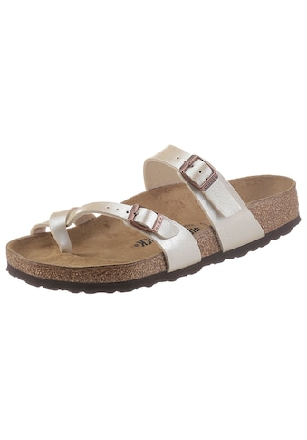 Birkenstock Zehentrenner »Mayari«, mit ergonomisch geformtem Fußbett kaufen