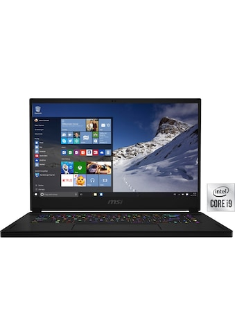 """MSI Gaming-Notebook »GS66 Stealth 10UH-274«, (39,6 cm/15,6 """" Intel Core i9 GeForce... kaufen"""