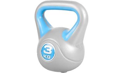 GORILLA SPORTS Kettlebell »Kettlebell Stylish Kunststoff 3 kg«, 3 kg kaufen