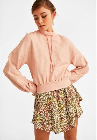 OXXO Sweatshirt, mit hohem Kragen kaufen
