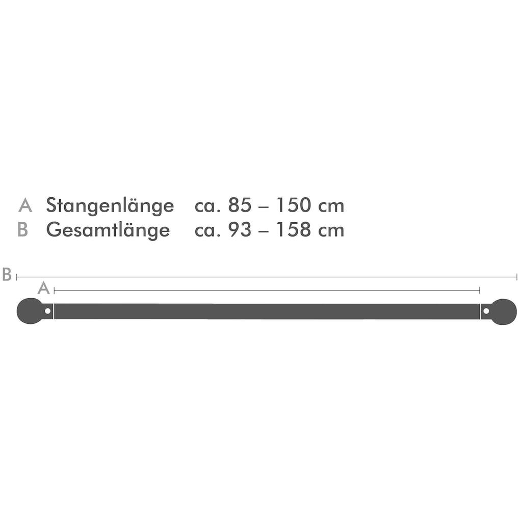 Good Life Scheibenstange »Kreis«, 1 läufig-läufig, ausziehbar