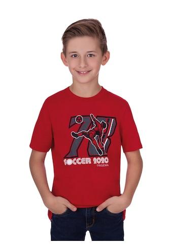 Trigema EM Fußball - Shirt für kleine Fußballfans kaufen
