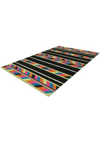 Arte Espina Wollteppich »Craft 8053«, rechteckig, 12 mm Höhe, reine Wolle, Wohnzimmer kaufen