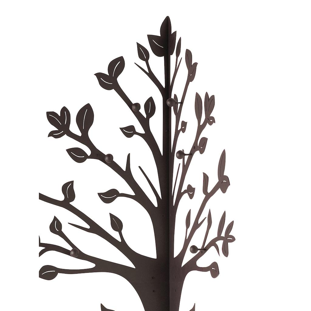 Baumgarderobe mit integriertem Schirmständer