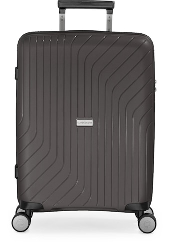 Hauptstadtkoffer Hartschalen-Trolley »TXL, titan, 55 cm«, 4 Rollen kaufen