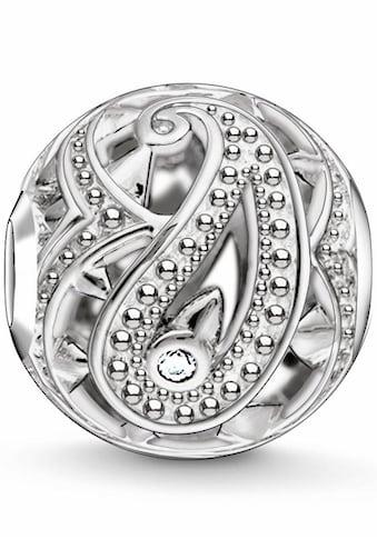 THOMAS SABO Bead »Karma Bead, Paisley-Design, K0216-643-14«, mit Zirkonia kaufen