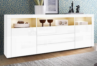 borchardt m bel sideboard breite 166 cm bei otto. Black Bedroom Furniture Sets. Home Design Ideas