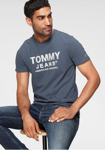 TOMMY JEANS T - Shirt »TJM ESSENTIAL FRONT LOGO TEE« kaufen