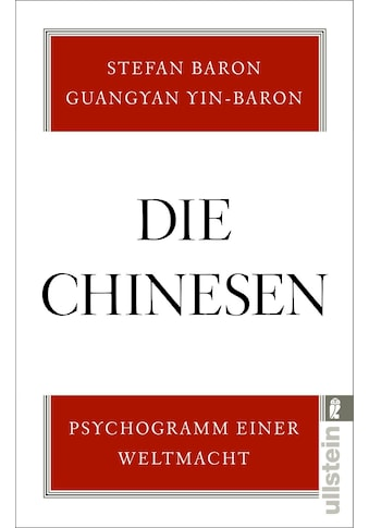 Buch »Die Chinesen / Stefan Baron, Guangyan Yin-Baron« kaufen