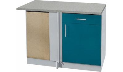 wiho Küchen Eckunterschrank »Kiel«, 110 cm breit kaufen
