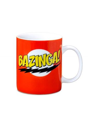 LOGOSHIRT Tasse mit lustigem Print »TBBT  -  The Big Bang Theory  -  Bazinga« kaufen
