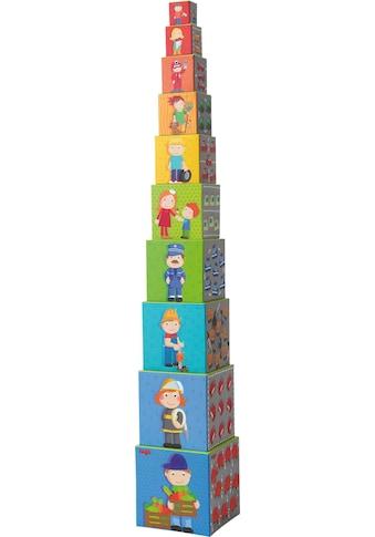 Haba Stapelspielzeug »Flotte Flitzer«, (10 tlg.) kaufen