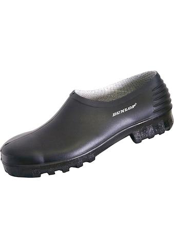 Dunlop Clog »814 P«, Galosche schwarz kaufen