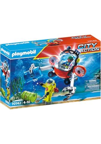 Playmobil® Konstruktions-Spielset »Seenot: Umwelteinsatz mit Tauchboot (70142), City... kaufen