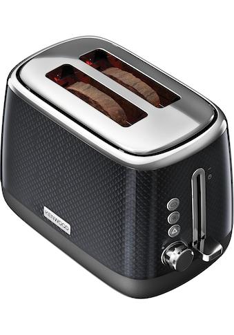 KENWOOD Toaster »Mesmerine TCM811.BK«, 2 kurze Schlitze, für 2 Scheiben, 1000 W kaufen